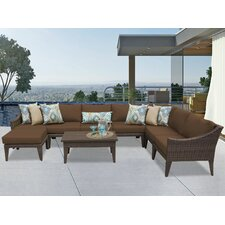 Manhattan 9 Piece Deep Seating Group with Cushion