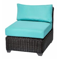 Venice Armless Chair with Cushions (Set of 2)