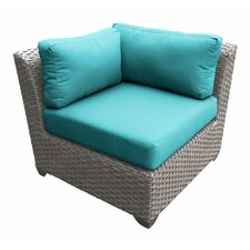 Florence Corner Sectional Piece with Cushions (Set of 2)