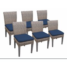 Today Only Sale Oasis Dining Side Chair with Cushion (Set of 6)