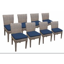 Oasis Dining Side Chair with Cushion (Set of 8)