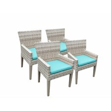 Fairmont Dining Arm Chair with Cushion (Set of 4)