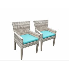 Fairmont Dining Arm Chair with Cushion (Set of 2)