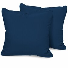 Square Outdoor Throw Pillow (Set of 2)