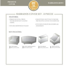 Bargain Barbados 8 Piece Cover Set