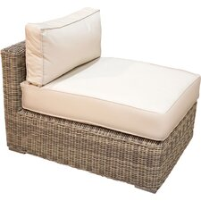 Best Choices Wicker Armless Chair