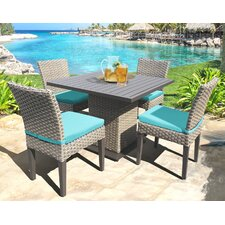 Oasis 5 Piece Dining Set with Cushion