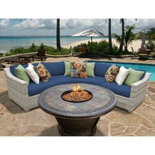 Fairmont 4 Piece Deep Seating Group with Cushion