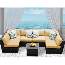 Barbados 7 Piece Deep Seating Group with Cushion