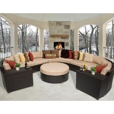 Barbados 8 Piece Deep Seating Group with Cushion