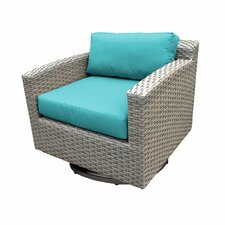 Florence Swivel Armchair with Cushion