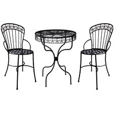 Daisy Ribbon 3 Piece Bistro Set
