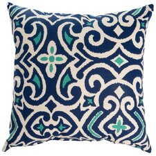 New Damask Throw Pillow