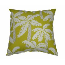 Palm Outdoor Throw Pillow
