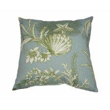 Modern The Sea Outdoor Throw Pillow