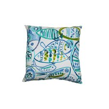 Cast Outdoor Throw Pillow