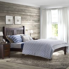 Shaker Platform Bed  Grain Wood Furniture