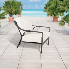 Comparison Catalina Cast Aluminum Club Chair with Cushion