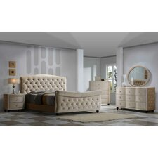 Diamond Sleigh Customizable Bedroom Set