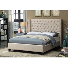 Upholstered Platform Bed  Meridian Furniture USA