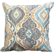 Fresh Everyday Single Piped Zippered Outdoor Throw Pillow