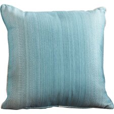 Premium Single Piped Zippered Outdoor Throw Pillow