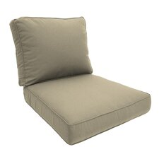 Premium Double Piped Lounge Chair Cushion