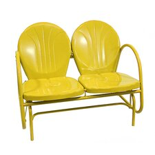 Retro Metal Tulip Double Glider