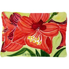 Amaryllis Indoor/Outdoor Throw Pillow