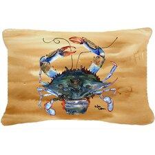 Comparison Crab Indoor/Outdoor Throw Pillow