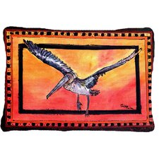 Pelican Indoor/Outdoor Throw Pillow