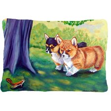 Corgi Lumbar Pillow