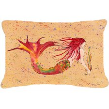 Sale Mermaid Indoor/Outdoor Throw Pillow
