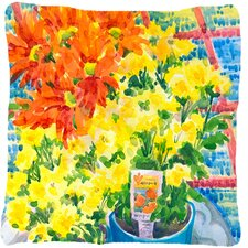 Mums Indoor/Outdoor Throw Pillow