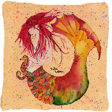 Mermaid Indoor/Outdoor Throw Pillow