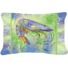 Shrimp Indoor/Outdoor Throw Pillow