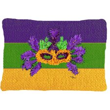 Mardi Gras Indoor/Outdoor Throw Pillow