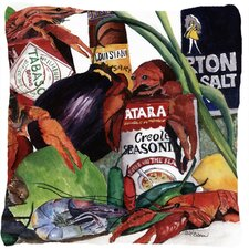 Coupon Louisiana Spices Indoor/Outdoor Throw Pillow