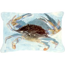 Purchase Blue Crab Indoor/Outdoor Throw Pillow