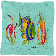 2017 Sale Tropical Fish Throw Pillow
