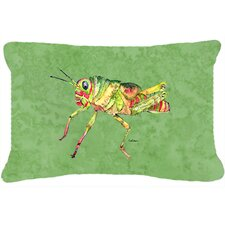 Grasshopper Indoor/Outdoor Throw Pillow
