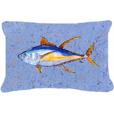 Tuna Fish Indoor/Outdoor Throw Pillow