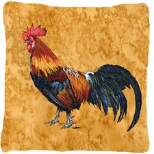 Coupon Rooster Indoor/Outdoor Throw Pillow