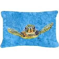 Sale Turtle Indoor/Outdoor Throw Pillow