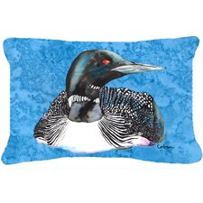 Loon Indoor/Outdoor Throw Pillow