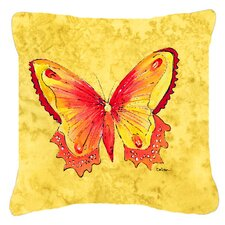 Fresh Butterfly Indoor/Outdoor Throw Pillow