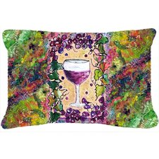 Wine Indoor/Outdoor Throw Pillow