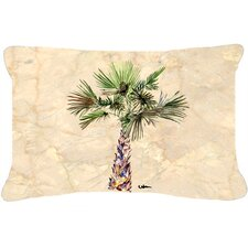 Savings Palm Tree Indoor/Outdoor Throw Pillow