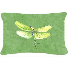 Dragonfly Indoor/Outdoor Throw Pillow