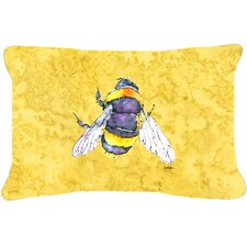 Bee Indoor/Outdoor Throw Pillow